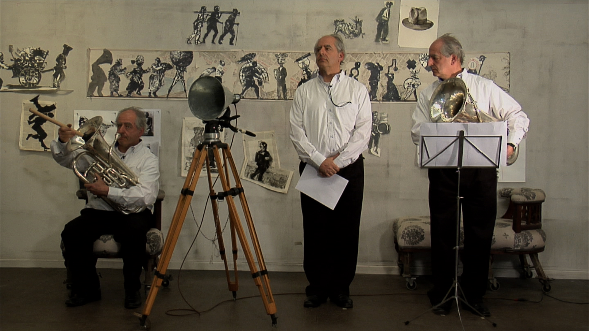 William Kentridge - Isis Tragedie (for Concert) - 2010