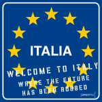 Opiemme - Welcome to Italy, Future Robbed - 2011