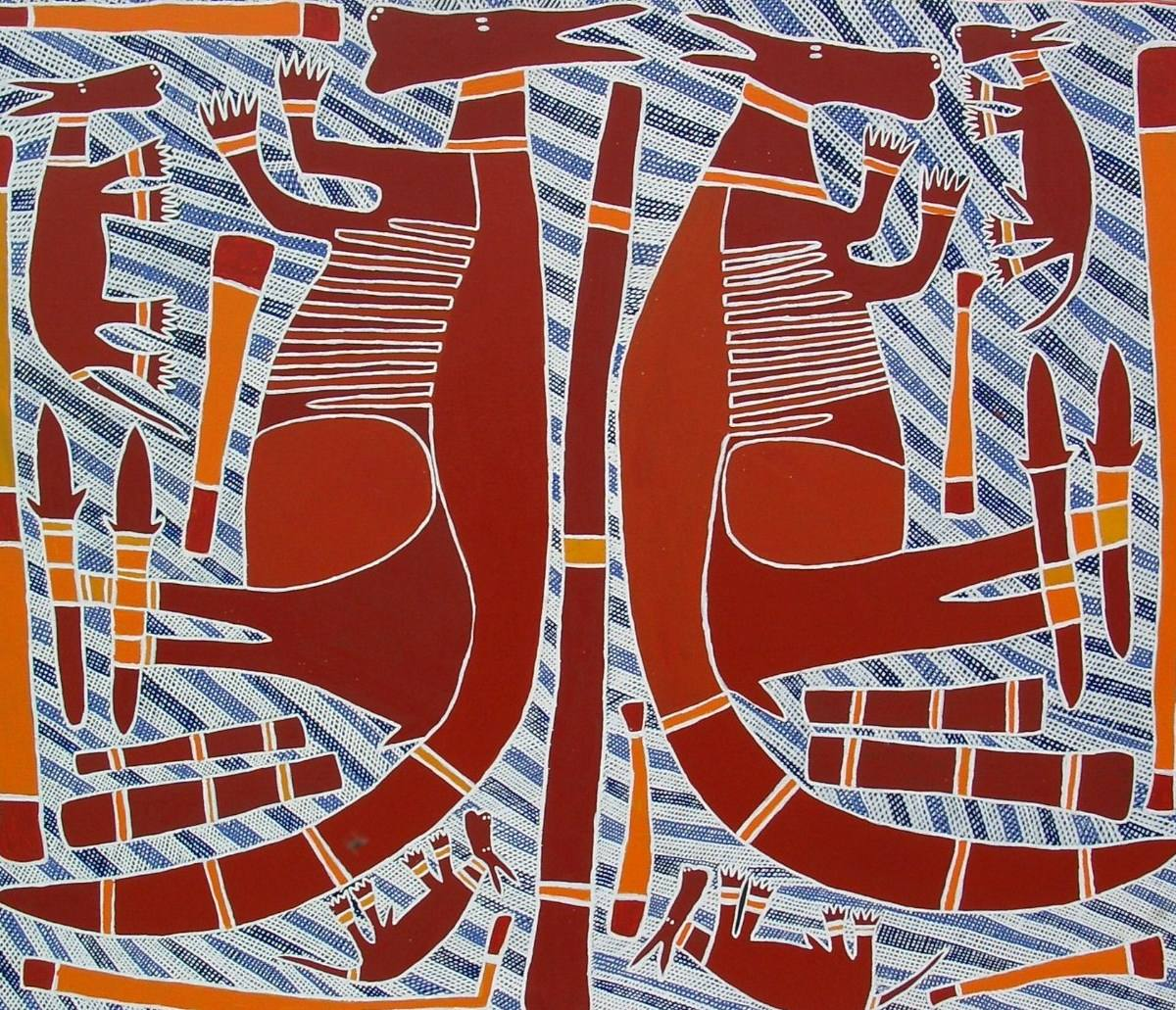 Djambu Barra Barra - Four Names for Kangaroo - 2003