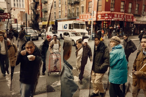 John Clang, Time-Chinatown, fine archival print