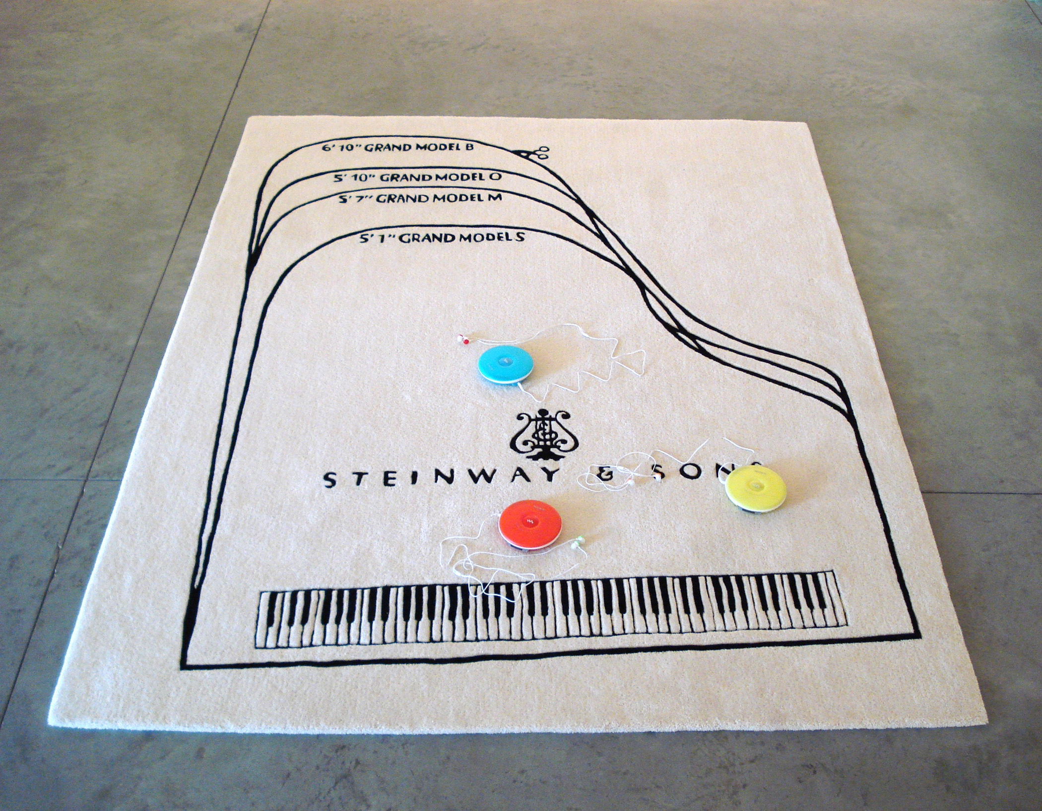 Barbara Bloom - Steinway Piano Carpet (Songs for YOU!) - 2011
