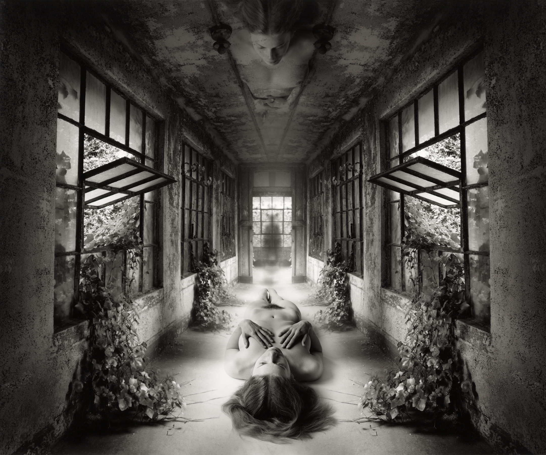 Jerry Uelsmann - Self Reflection - 2009