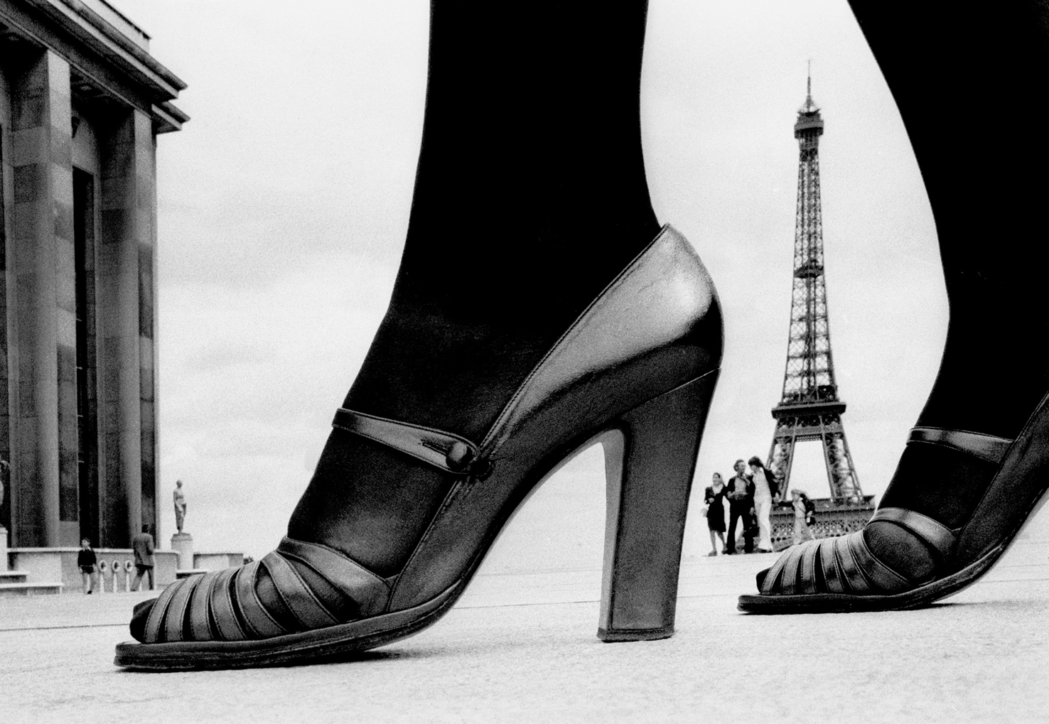 Frank Horvat - Shoe and Eiffel Tower D - Paris, 1974 - courtesy Photographica Fine Art Gallery, Lugano