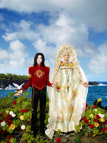 David Lachapelle – Michael Jackson. The Beatification: I'll never let you part for you're always in my heart – 2009 – courtesy Robilant+Voena