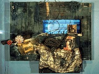Wolf Vostell - German view from the black room cycle - 1958-63
