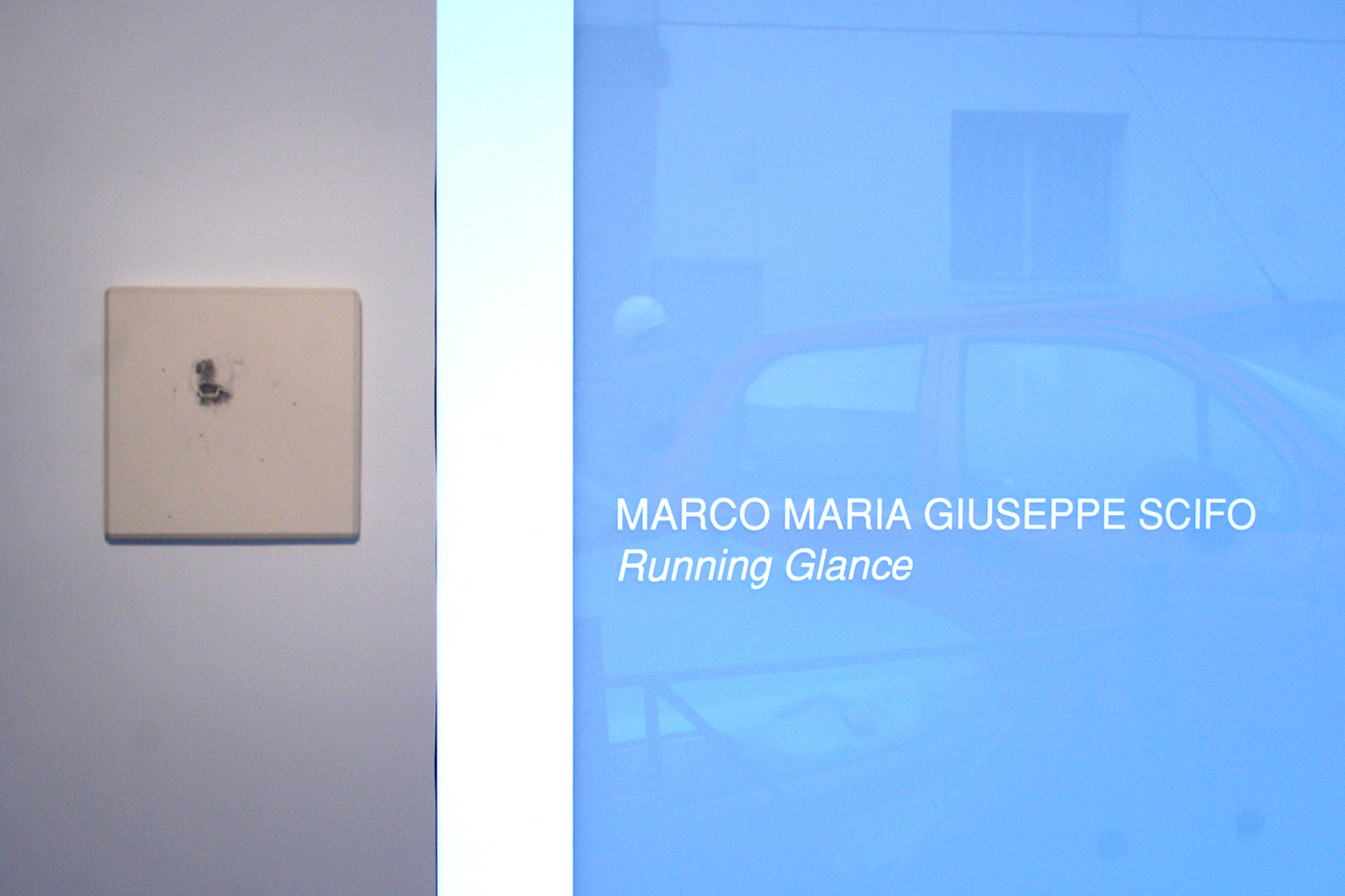 Marco Maria Giuseppe Scifo - Running Glance