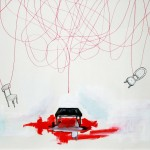 Alice Olimpia Attanasio - Red line and table
