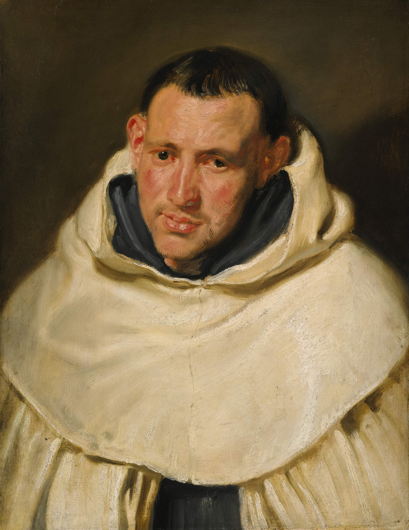 Anthony Van Dyck - Portrait of a Carmelite Monk