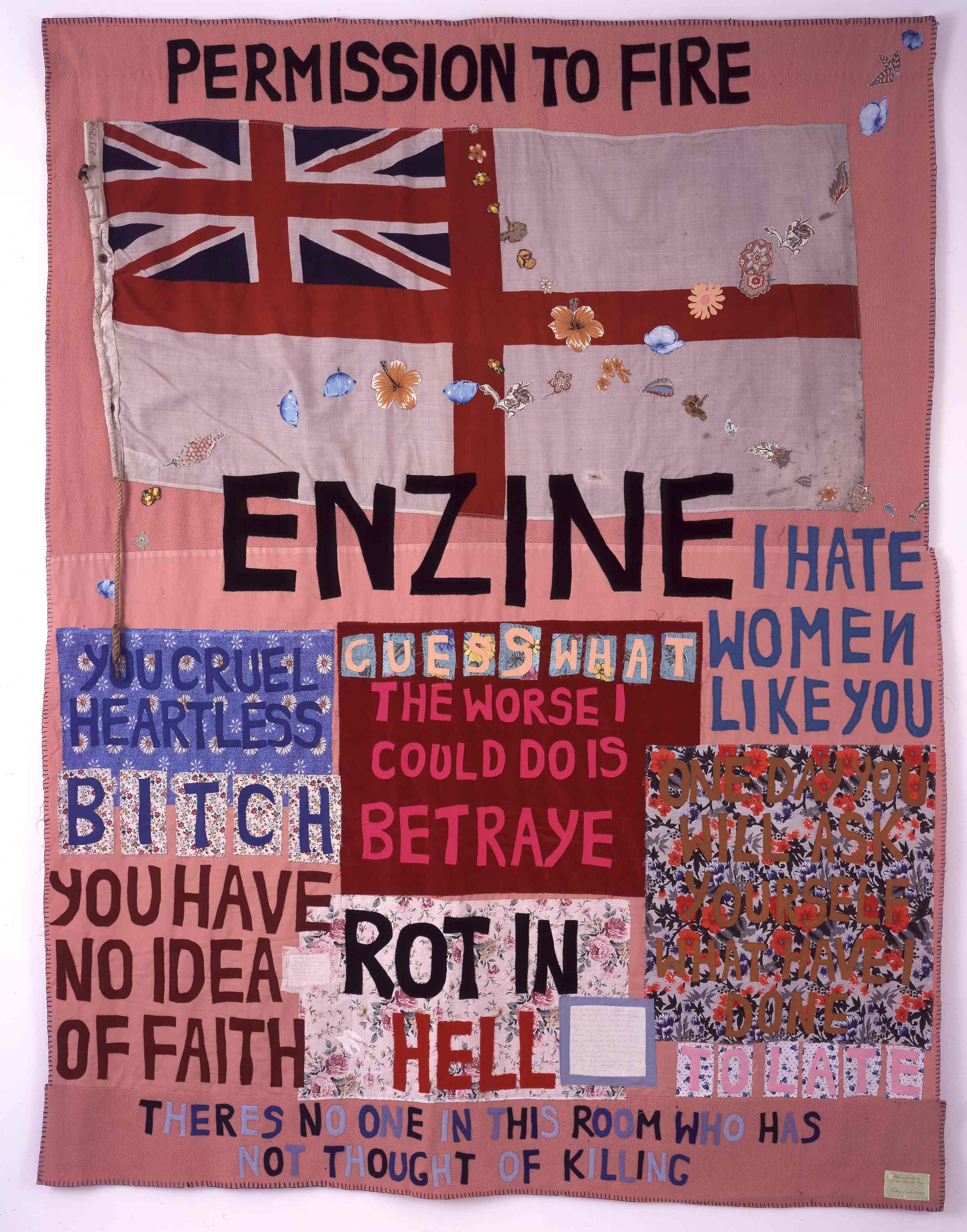 Tracey Emin - Hate and power can be a terrible thing - 2004 - courtesy White Cube, Londra