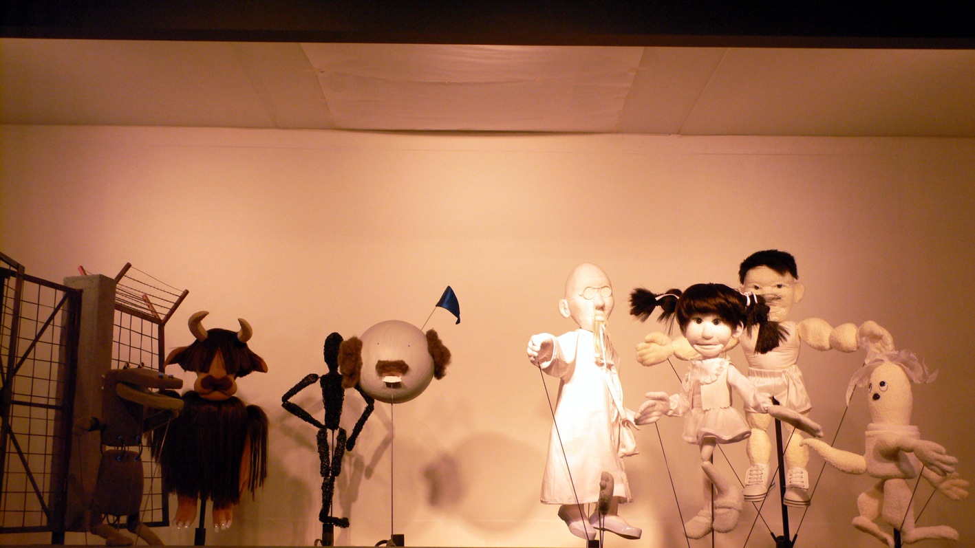 """""""This is Xijing - Journey to the West"""", performance e installazione, Seoul, 2008"""
