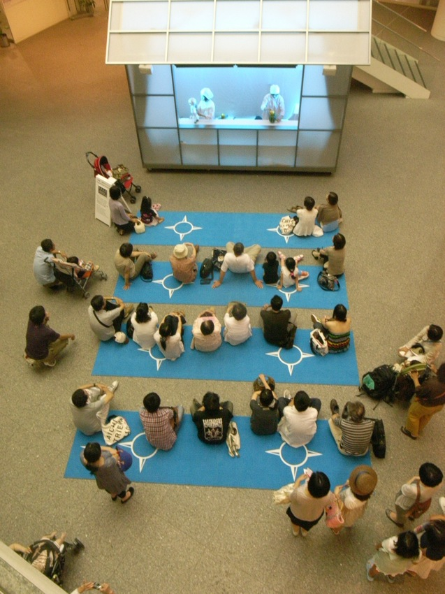 """This is Xijing – The Journey Beyond the West"", veduta dell'installazione alla Aichi Triennale, Nagoya, Giappone, 2010. Courtesy degli artisti e della Japan Foundation"