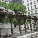 Ai Weiwei, Circle of Animals / Zodiac Heads, Central Park, New York