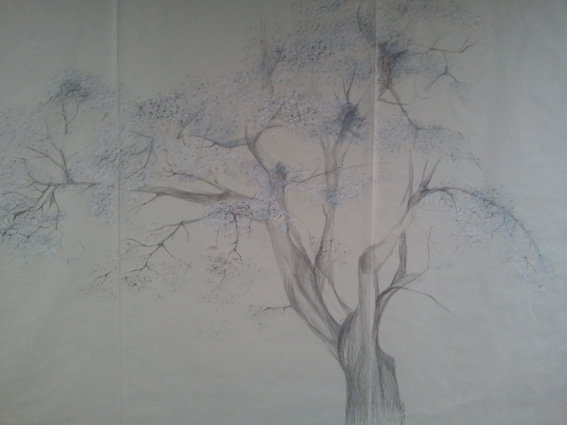 Avish Khebrehzadeh - Dogwood Tree - 2011