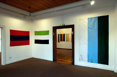 Daniel Knorr - Flags Of student leagues of Göttingen 2