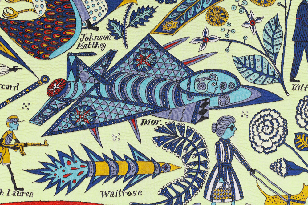 Grayson Perry - Walthamstow Tapestry - 2009 - coll. privata