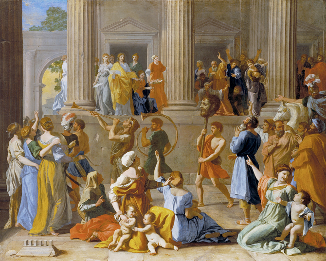 Nicolas Poussin, The Triumph of David (1628-1631) © By permission of the Trustees of Dulwich Picture Gallery