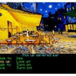 The Secret of Monkey Island (1990) and Vincent Van Gogh's Cafe Terrace on the Place du Forum, Arles, at Night (1888). Image credit: Aled Lewis