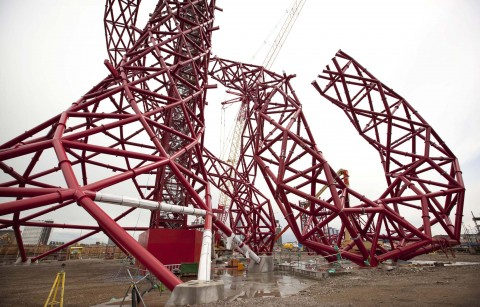 Anish Kapoor - ArcelorMittal Orbit - photo Stephen Hird, 10 giugno 2011