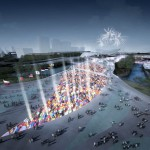 The Olympic Park - rendering, 2009