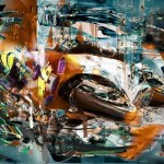 "Patryk Kuleta, ""Valentino Rossi, Front runner"", 2011 - limited to 46"