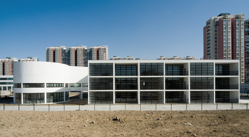 WangYun, The Kindergarten, Baiziwan, Beijing, China, 2003-06