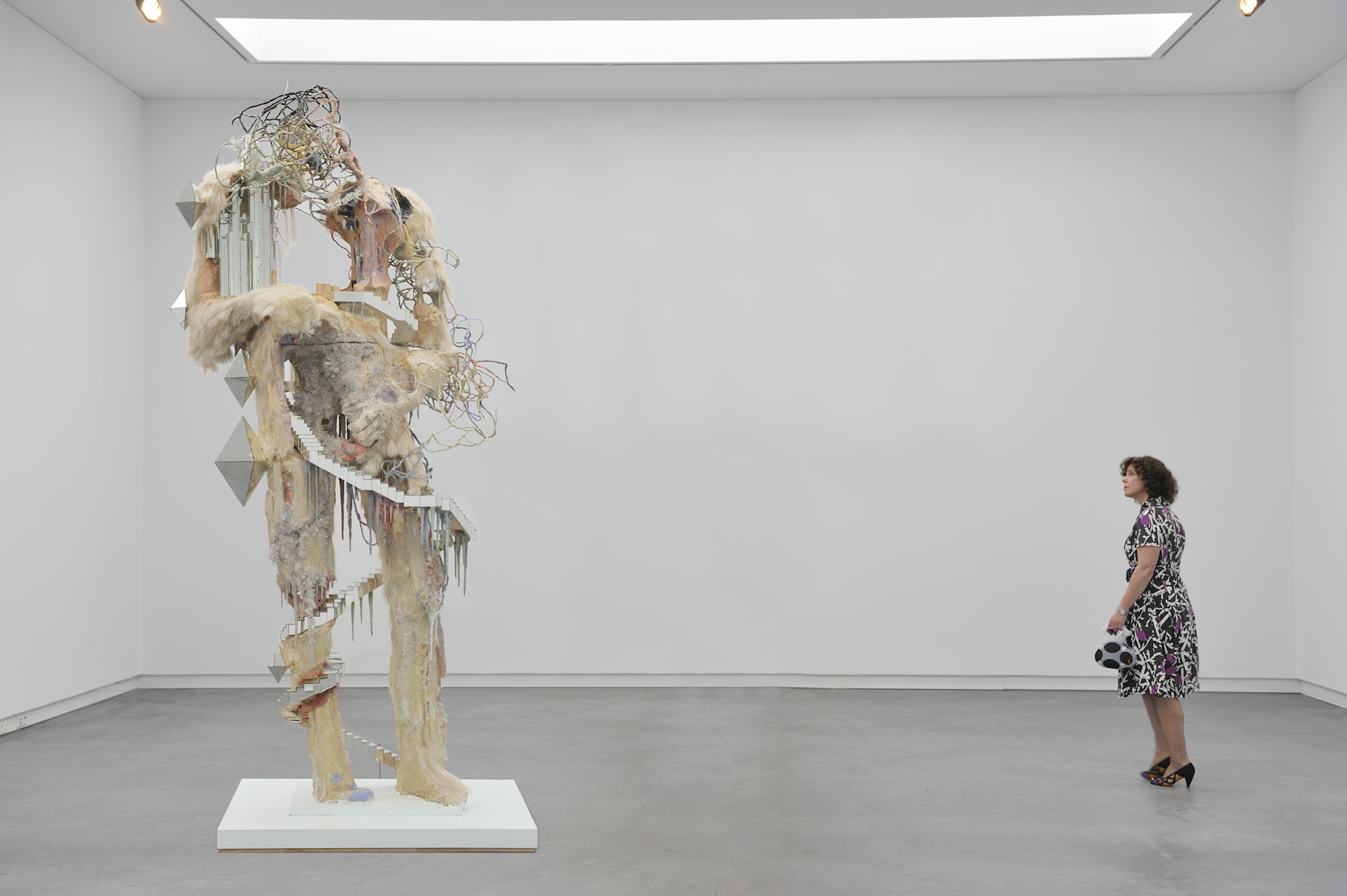 David Altmejd - The New North - 2007 - courtesy Saatchi Gallery, Londra