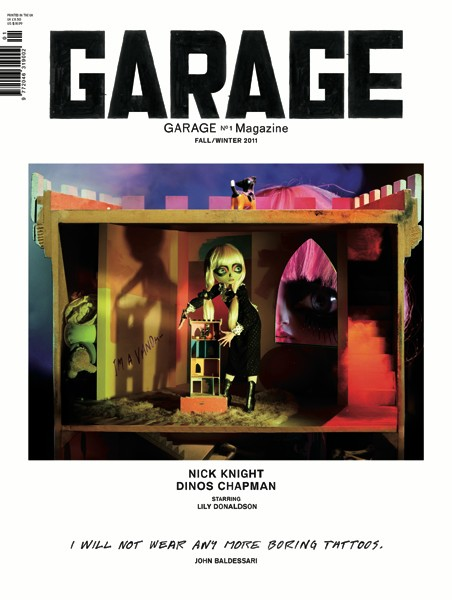 Garage - cover by Dinos Chapman e Nick Knight