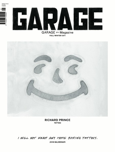 Garage - cover by Richard Prince