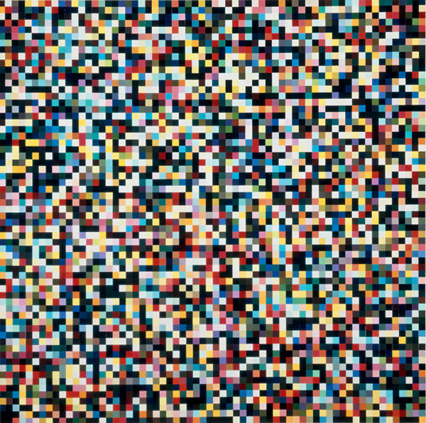 Gerhard Richter, 4096 Farben (4096 Colours), 1974