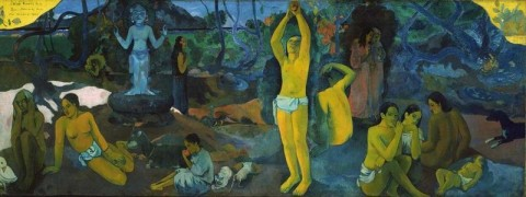 Paul Gauguin - Da dove veniamo? Chi siamo? Dove andiamo? - 1897-98 - Museum of Fine Arts, Boston