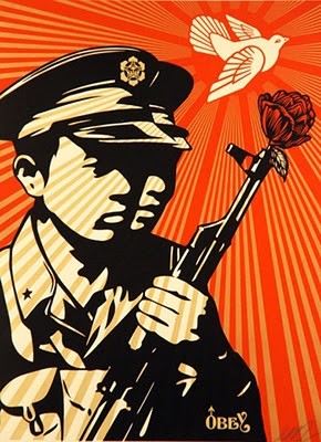 Shepard Fairey - Chinese Soldier