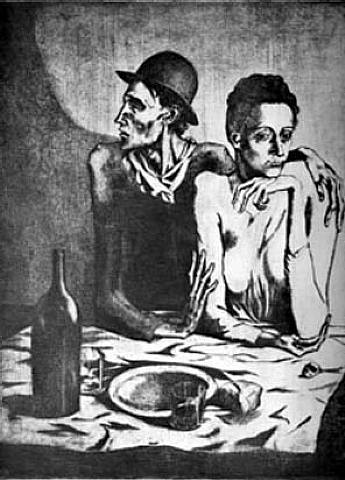 picasso - Le Repas frugal