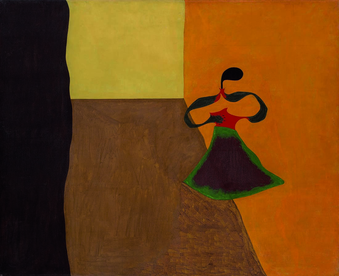 Joan Miró - La regina Luisa di Prussia - 1929 - Dallas, Meadows Museum - photo Michael Bodycomb