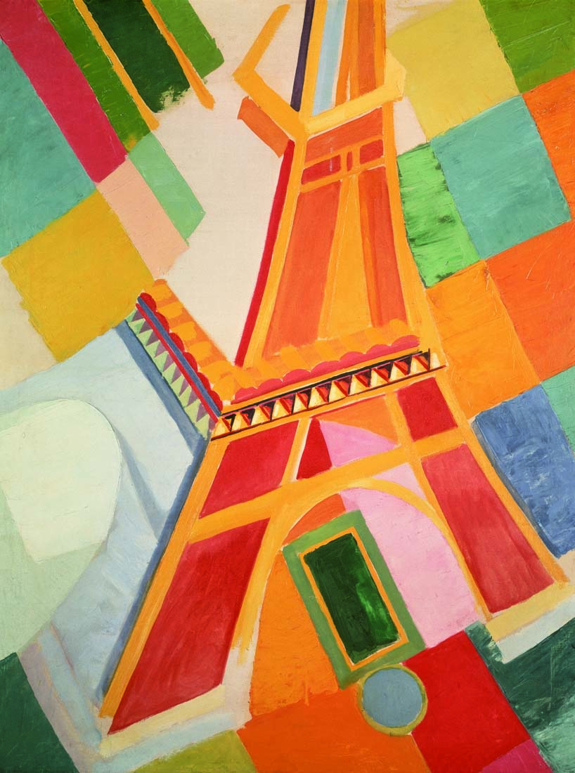 Robert Delaunay - Tour Eiffel - 1924-26 - Washington, Hirshhorn Museum and Sculpture Garden - photo Lee Stalsworth