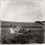 Diane Arbus, A family one evening at a nudist camp