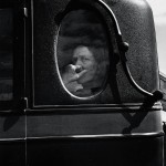Dorothea Lange, Funeral Cortège, End of an Era in a Small Valley Town