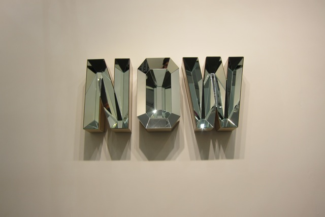 Doug Aitken, Now (#2 mirror), 2011, 303 Gallery New York