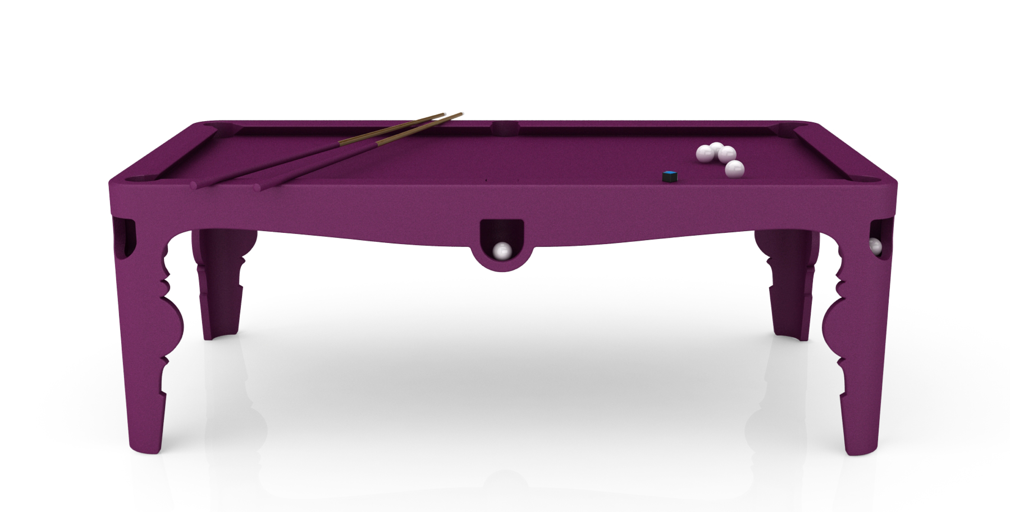 Marcel Wanders - Alcantara Pool Table