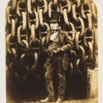 Robert Howlett (1830-58), Isambard Kingdom Brunel and the Launching Chains of The Great Eastern, 1857