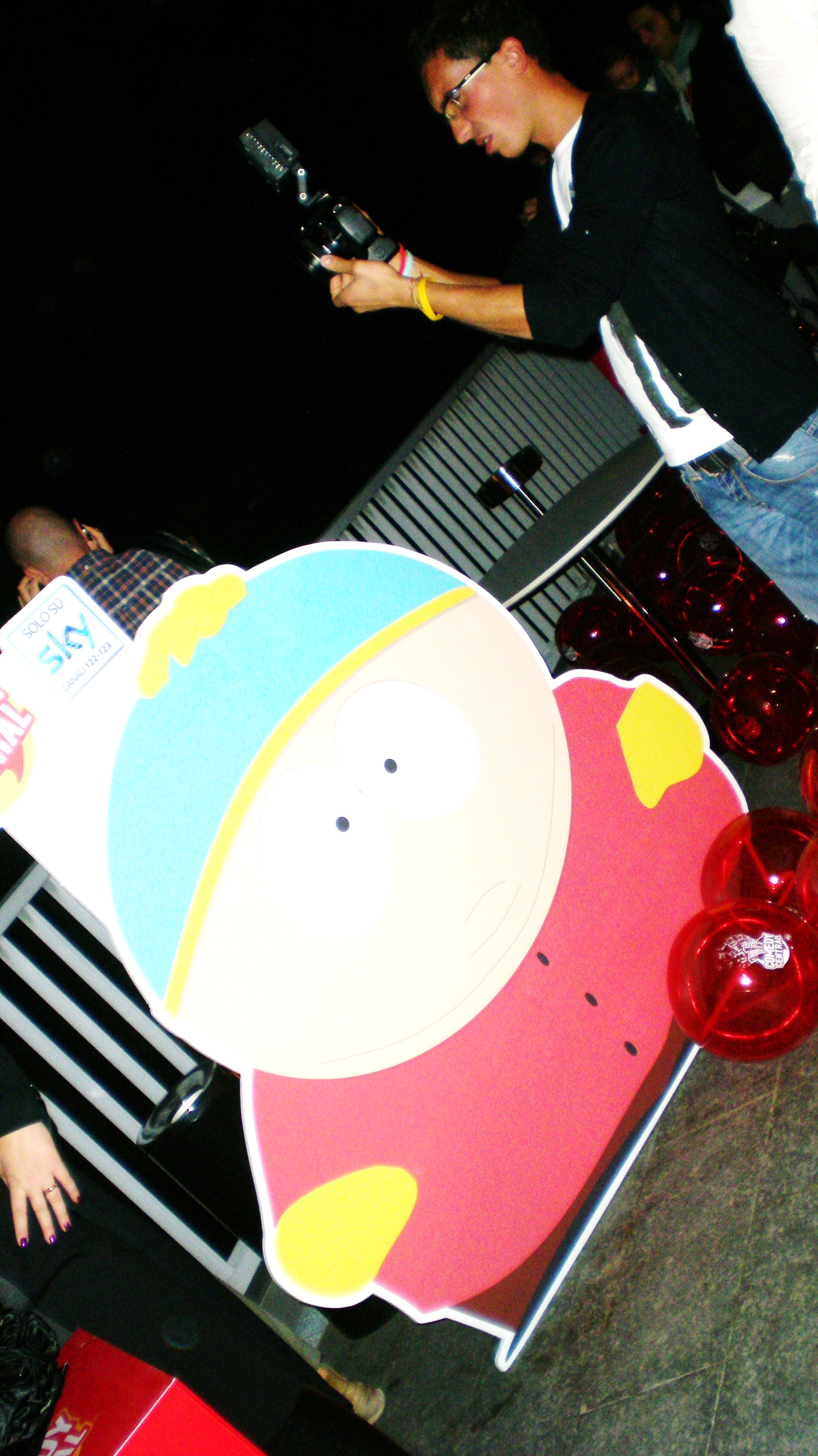 South Park party, Milano 3