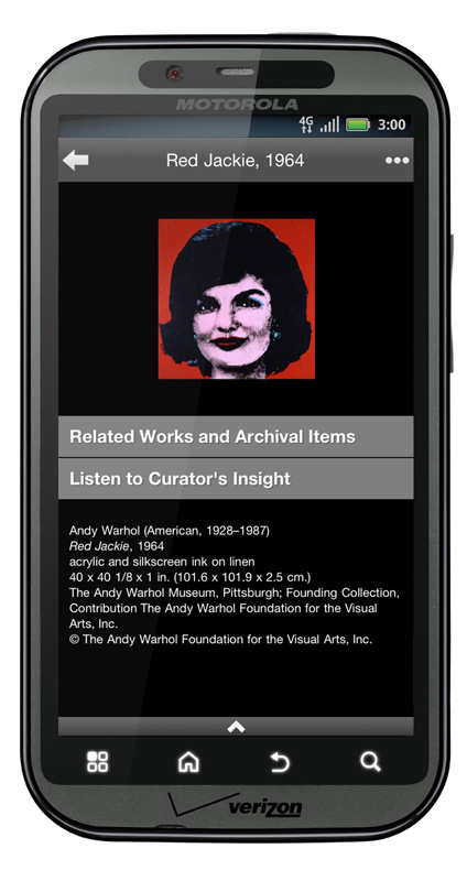 The Warhol Art App Android