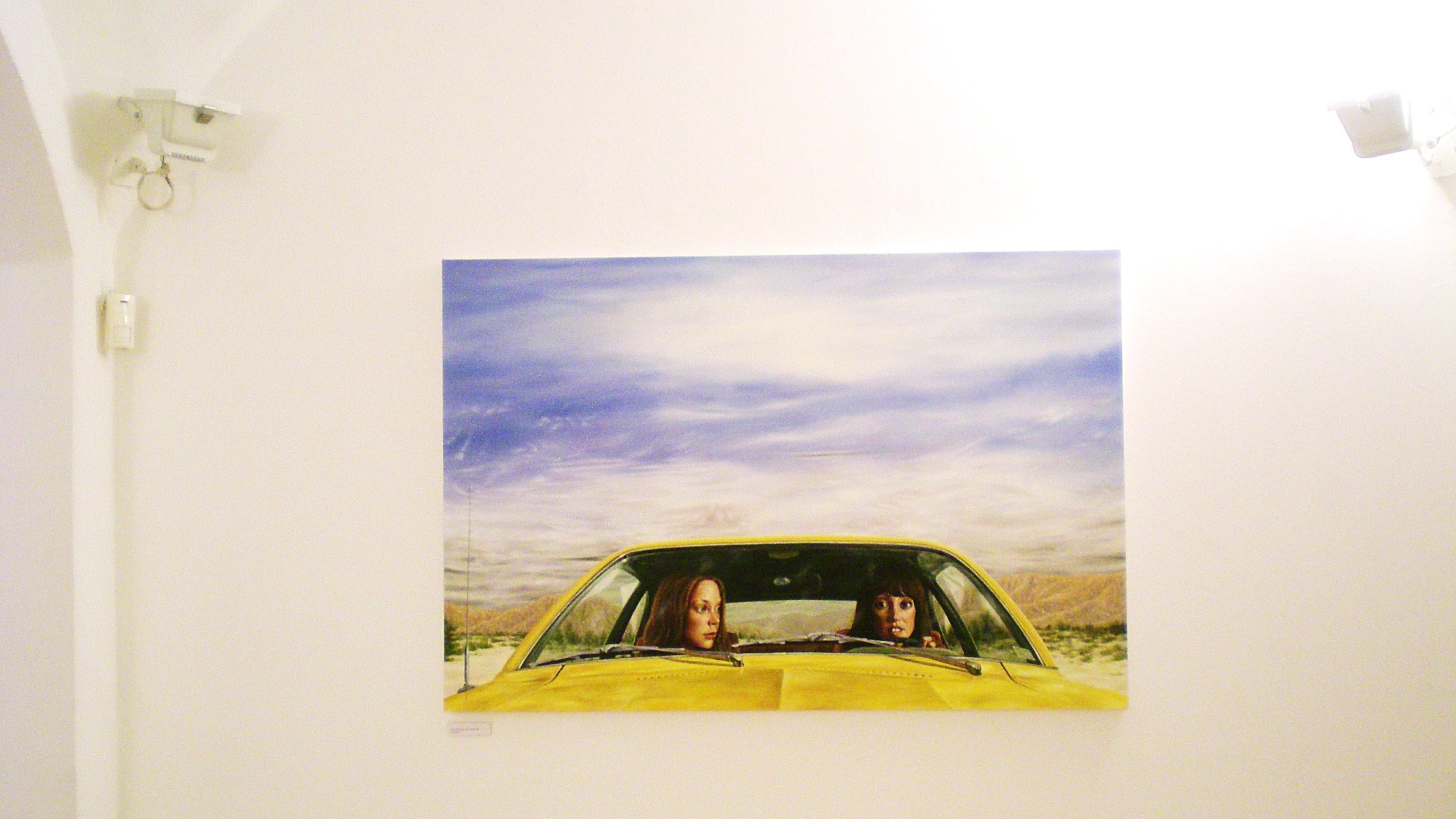 Eric White - 1973 Ford pinto with Tangut Sky (3 women) - 2011