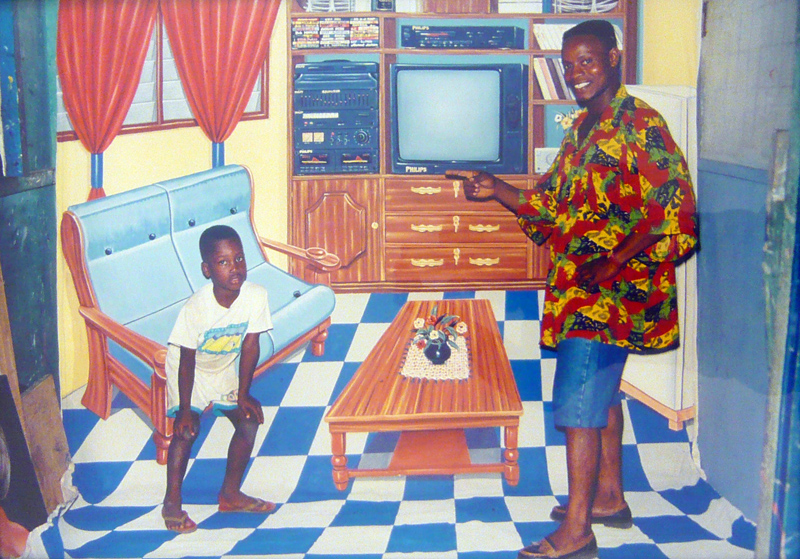 P. K. Apagya - No place like home - 1996 - courtesy Fifty One Fine Art Gallery