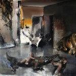 Shinique Smith - Continents - 2011 - courtesy l'artista & Brand New Gallery, Milano