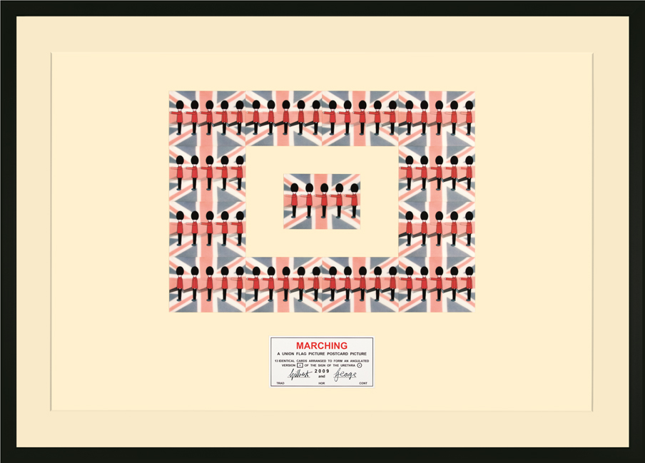 Gilbert & George - Marching - 2009