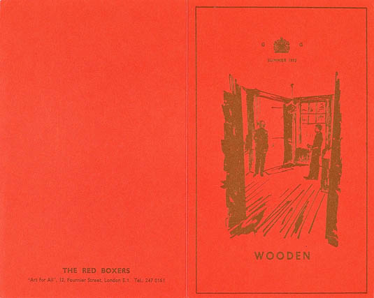 Gilbert & George - The Red Boxers - coll. privata