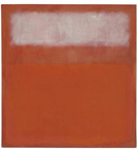 Mark Rothko - White Cloud (Courtesy Christie's Images)