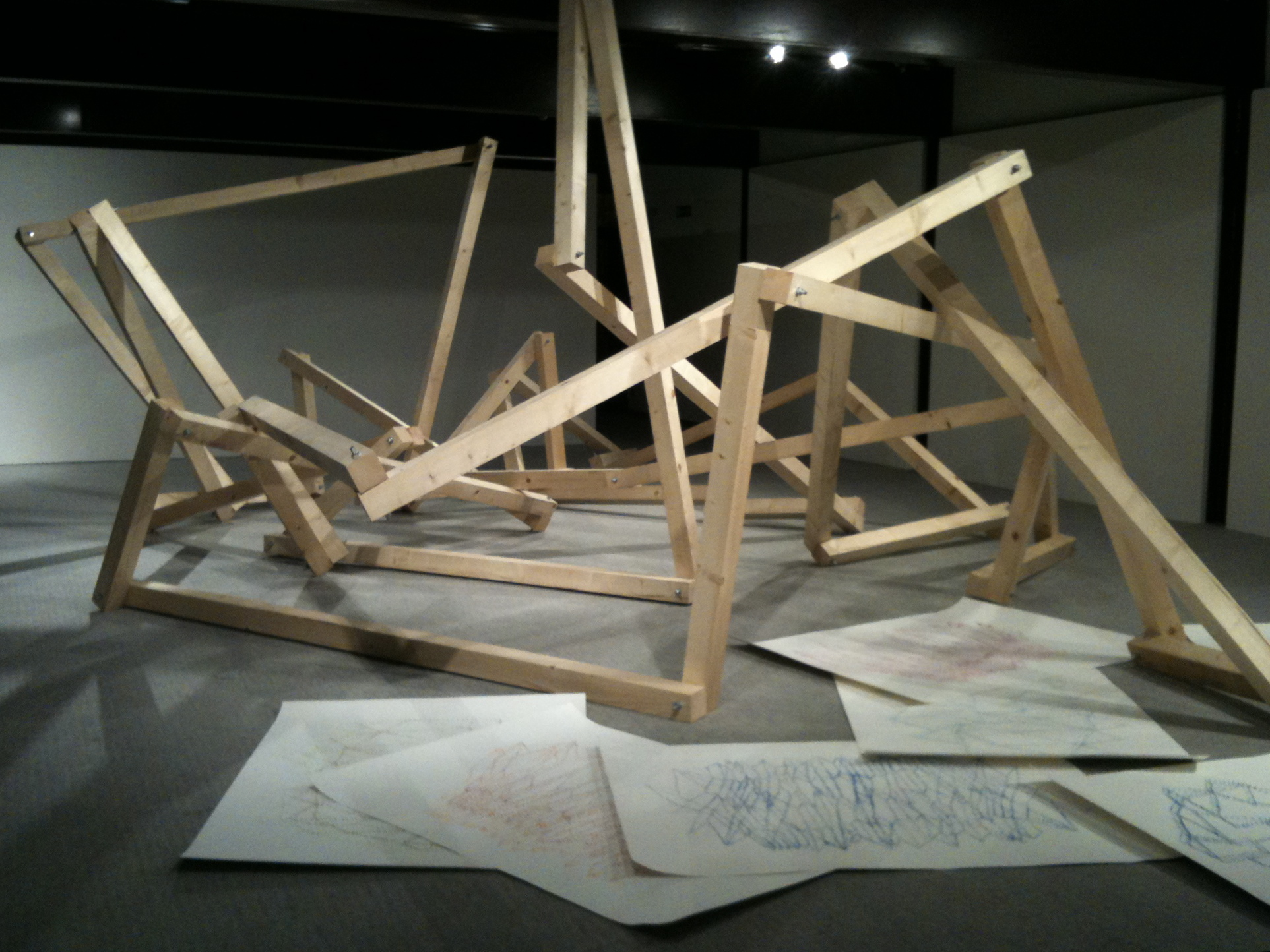 Pierluigi Calignano, Sleeping structure, 2011