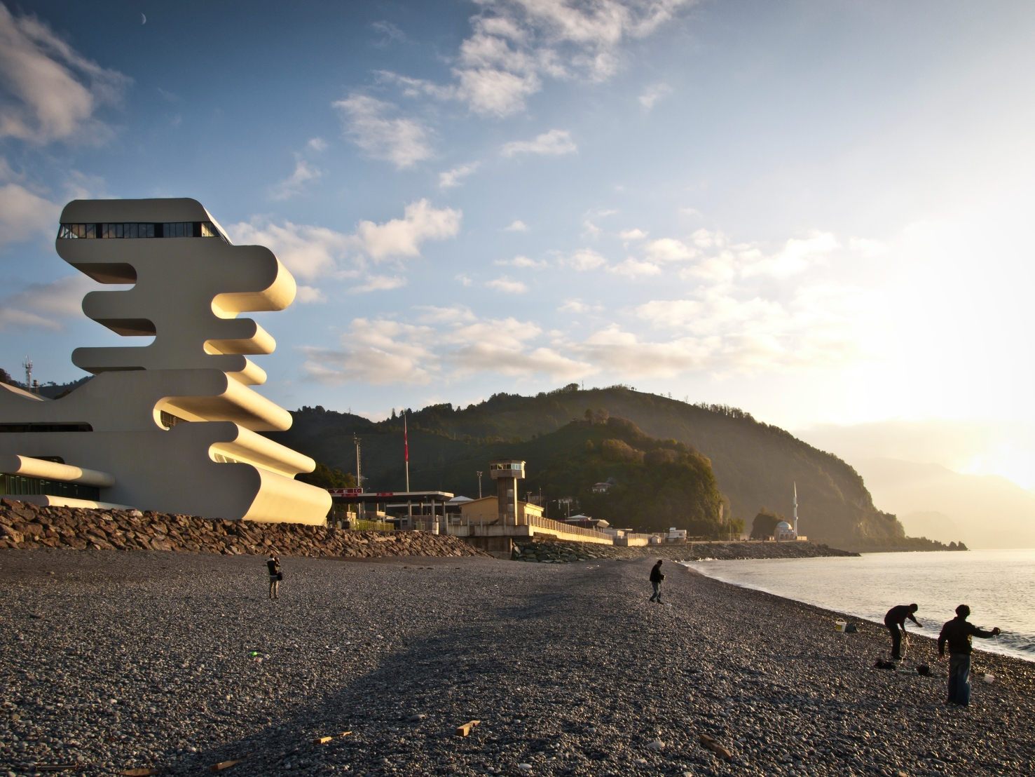 Sarpi Border Checkpoint_ J. MAYER H. Architects_05_Photo by Jesko-Johnsson-Zahn