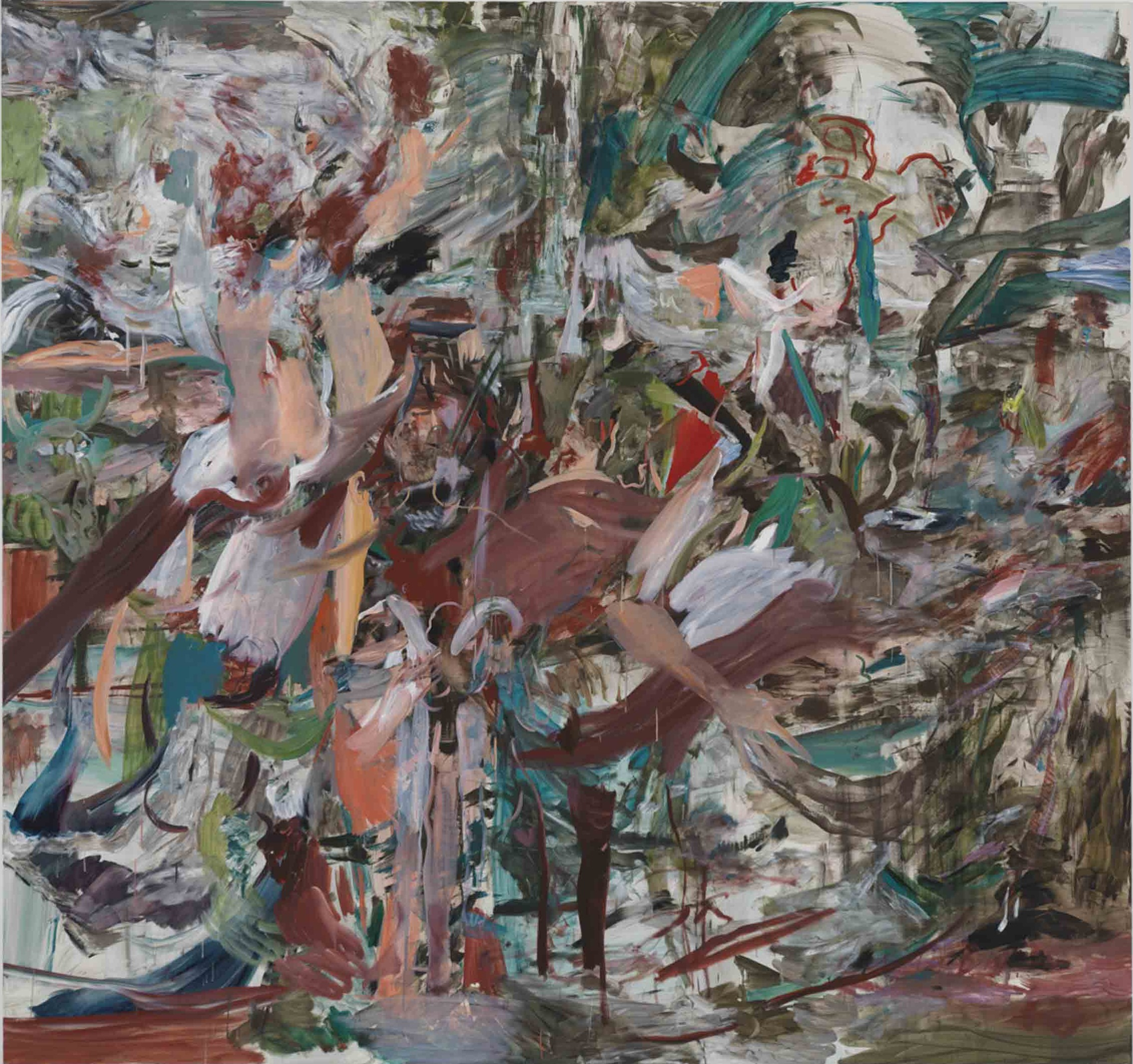 Cecily Brown - Handsome Stranger - courtesy Gagosian Gallery - photo Robert McKeever